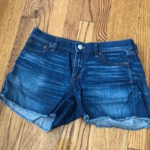 Jcrew denim shorts
